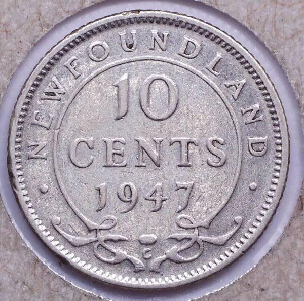 CANADA - 10 Cents 1947C - Terre-Neuve
