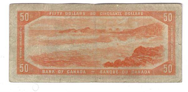 CANADA - Billet 50 Dollars 1954