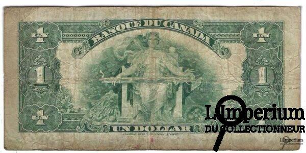 CANADA - Billet 1 Dollar 1935 - Osbourne Towers