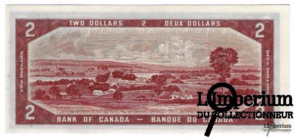 CANADA - 2 Dollars 1954 - Coyne/Towers - DEVIL'S FACE
