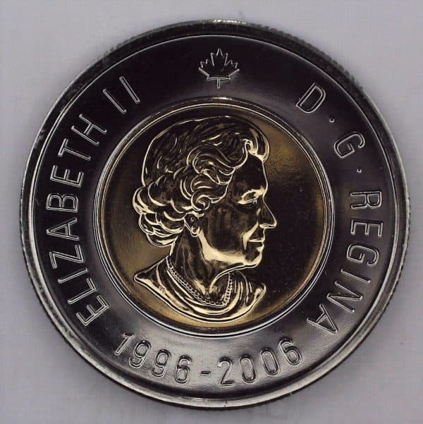 2006 Canada 2 Dollars Double Date NBU