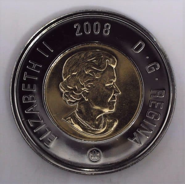 2008 Canada 2 Dollars NBU