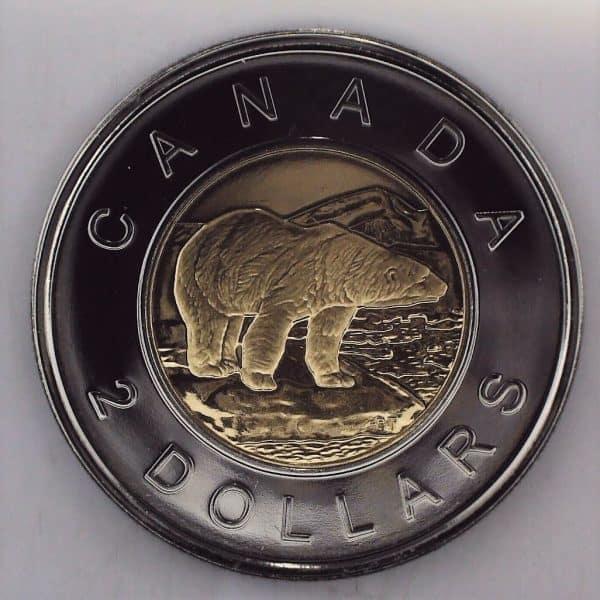 2009 Canada 2 Dollars NBU