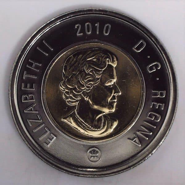 2010 Canada 2 Dollars NBU