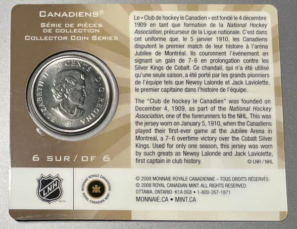2009 Canada 50 Cents 6/6 Specimen
