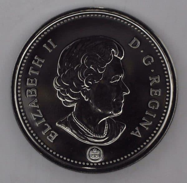 2007 Canada 5 Cents NBU