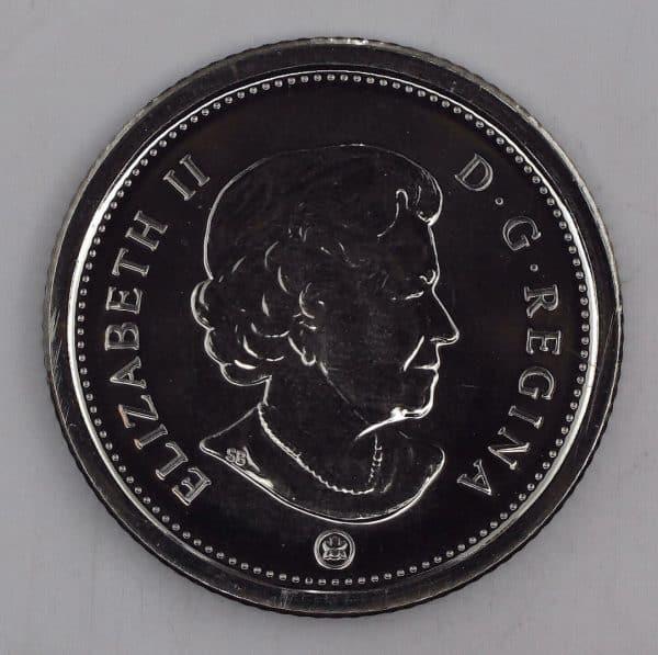 2007 Canada 10 Cents 7 Courbé NBU